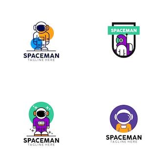 Projekt logo spaceman