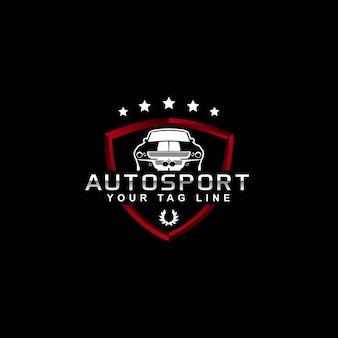 Projekt logo sportowego auta