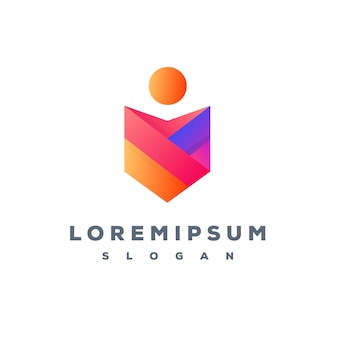 Projekt logo streszczenie gotowy do użycia