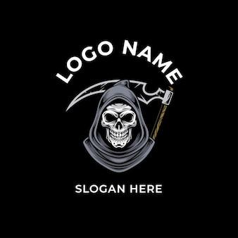 Projekt logo szkieletu