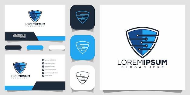 Projekt logo tarczy