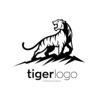 Projekt logo tygrysa