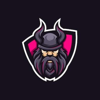 Projekt logo wikinga