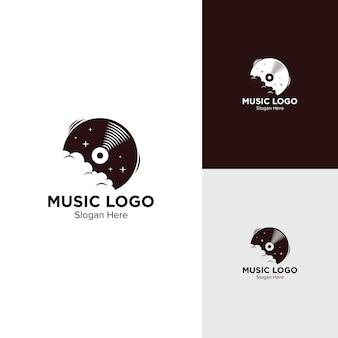 Projekt logo z winylu