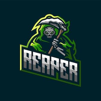 Projekt logo żniwiarza