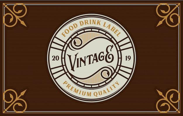 Projekt logo żywności i napojów dla marki
