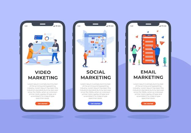 Projekt marketingu cyfrowego-mobilnego ui.