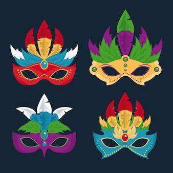 Projekt maski karnawałowe
