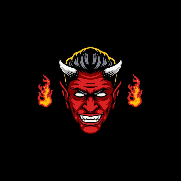 Projekt maskotki diabła