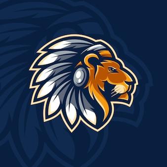 Projekt maskotki lwa