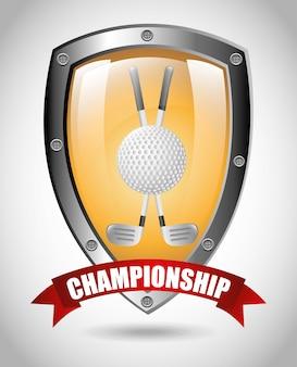 Projekt mistrzostw golfa