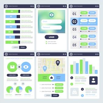Projekt mobilnego interfejsu użytkownika