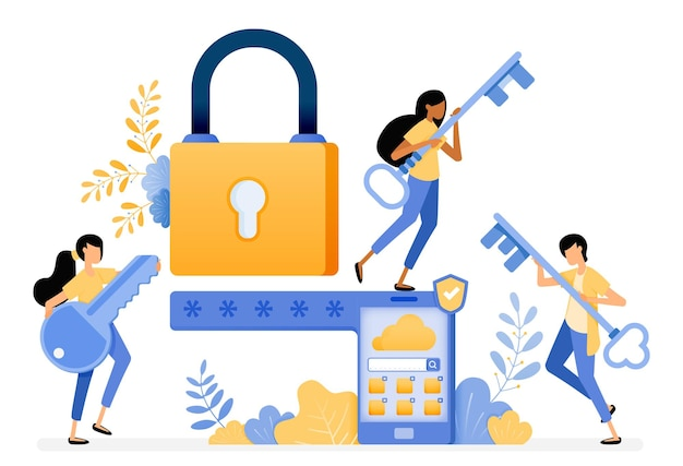 Projekt mobilnego systemu bezpieczeństwa z hasłem i technologią inteligentnej ochrony.