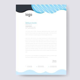 Projekt na papierze firmowym