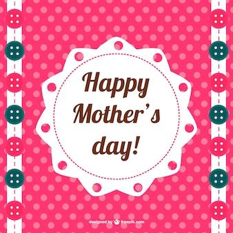 Projekt nadruku szczęśliwy dzień matki