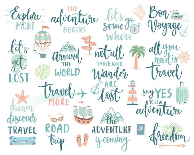 Projekt napisów podróży