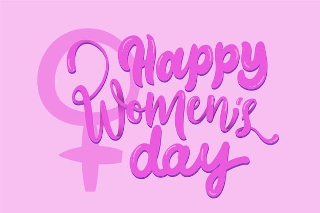 Projekt napisu na dzień kobiet