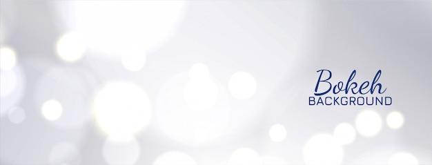 Projekt nowoczesny elegancki bokeh baner