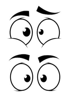 Projekt oczu.