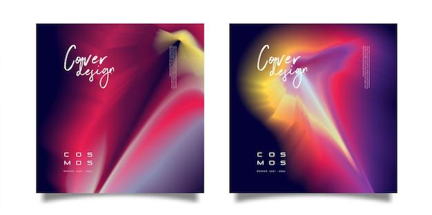 Projekt okładki cosmos