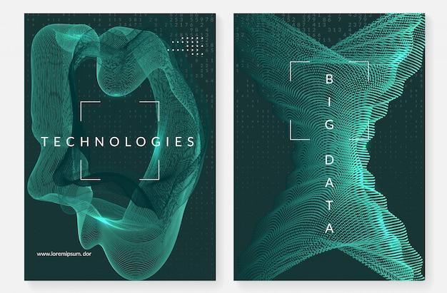 Projekt okładki dużych zbiorów danych. technologia wizualizacji