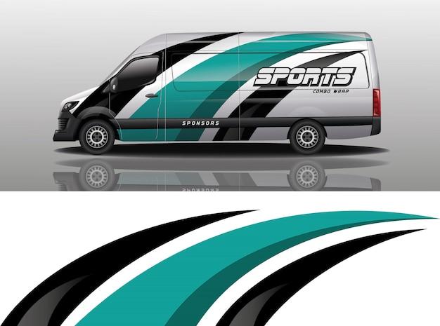 Projekt okładki van
