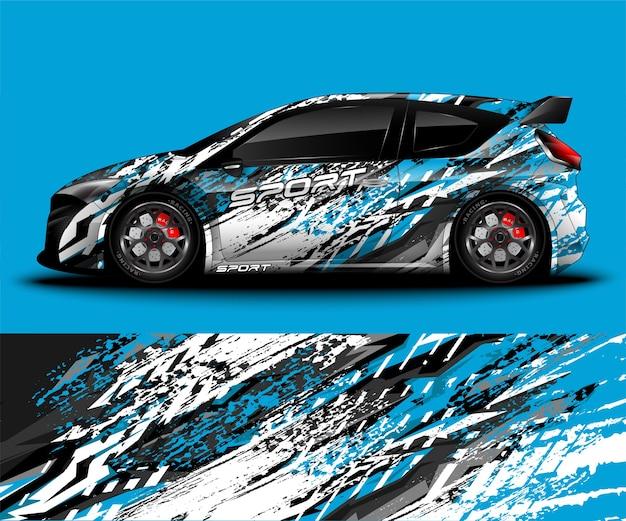 Projekt oklejenia samochodu sportowego i malowanie pojazdu