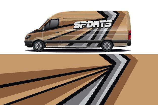 Projekt opakowania na samochód van