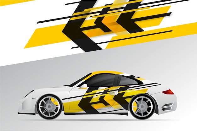 Projekt opakowania samochodowego