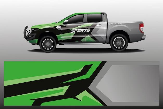 Projekt opakowania samochodu ciężarowego dla firmy