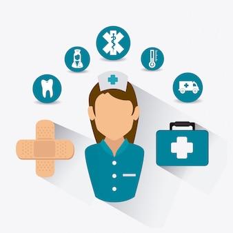 Projekt opieki zdrowotnej.