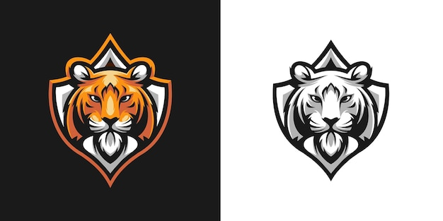 Projekt pakietu maskotki tigre