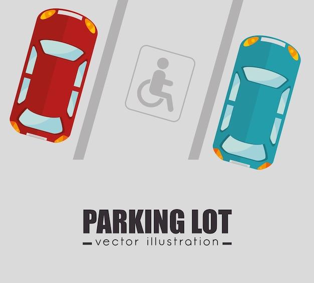 Projekt parkingu