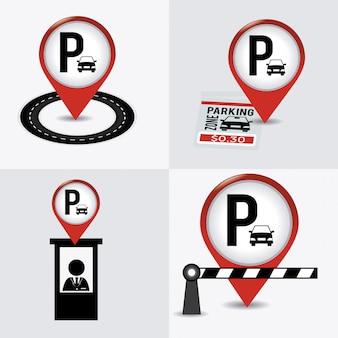 Projekt parkingu.