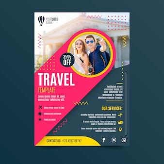 Projekt plakatu podróży