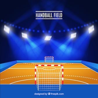 Projekt pola piłki ręcznej