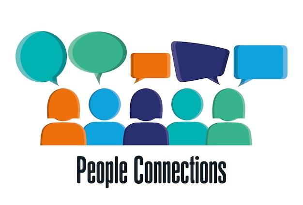 Projekt połączeń osób
