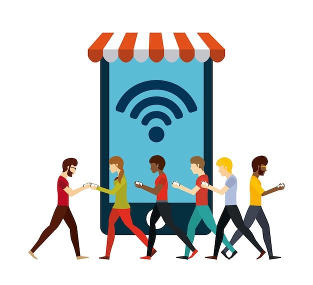 Projekt połączenia wifi