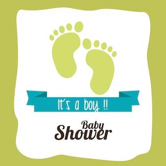 Projekt prysznica dla dzieci