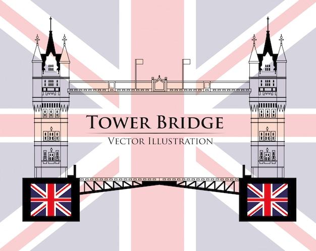 Projekt punktów orientacyjnych w londynie