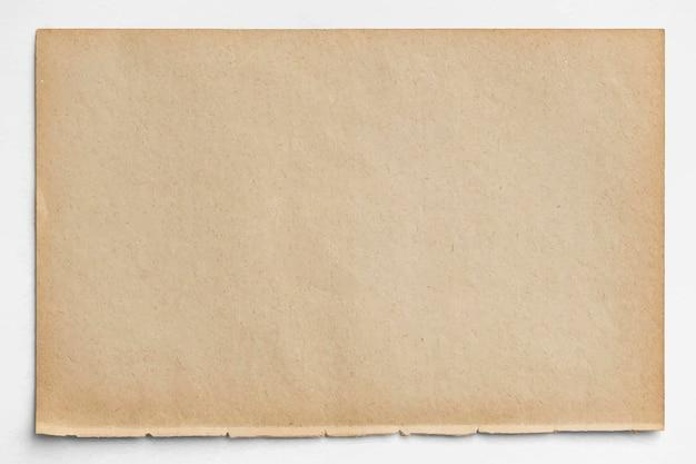 Projekt pusty brązowy papier