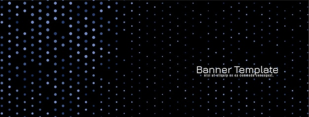 Projekt rastra ciemny ozdobny transparent wektor