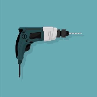 Projekt ręcznej elektrycznej wiertarki, narzędzia roboczego