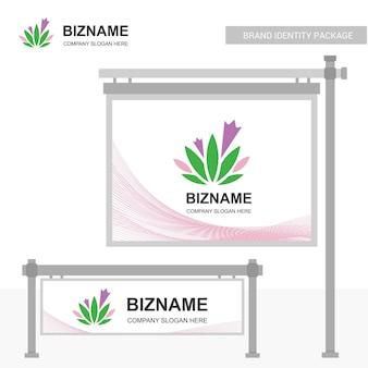 Projekt reklamy firmy banner