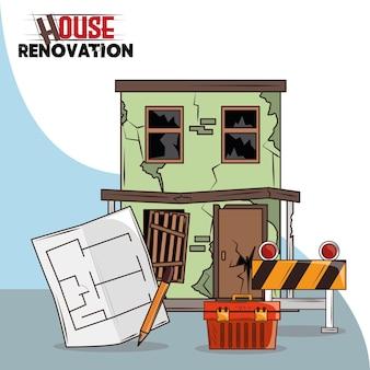 Projekt remontu domu