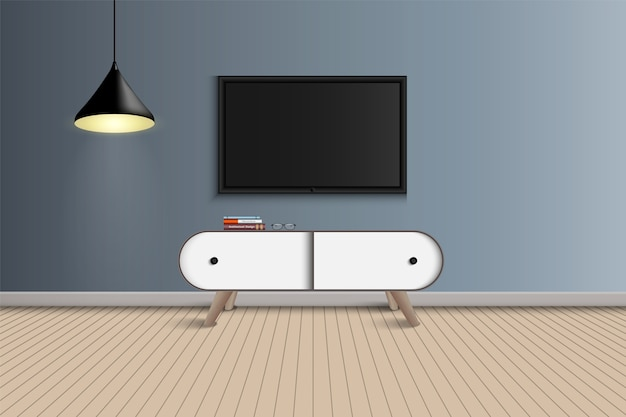 Projekt salonu i dekoracji