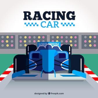 Projekt samochodu wyścigowego