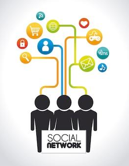 Projekt sieci społecznościowej