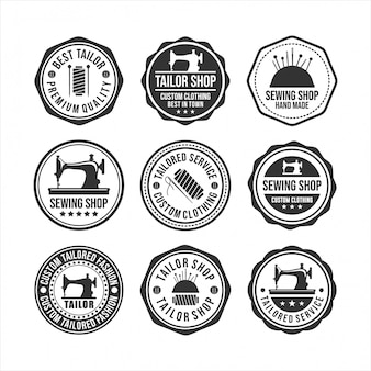 Projekt sklepu z odznakami krawieckimi