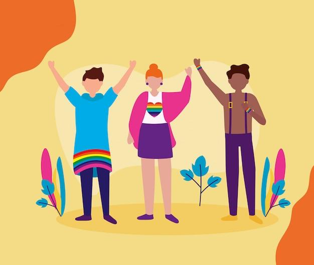 Projekt społeczności queer lgbtq